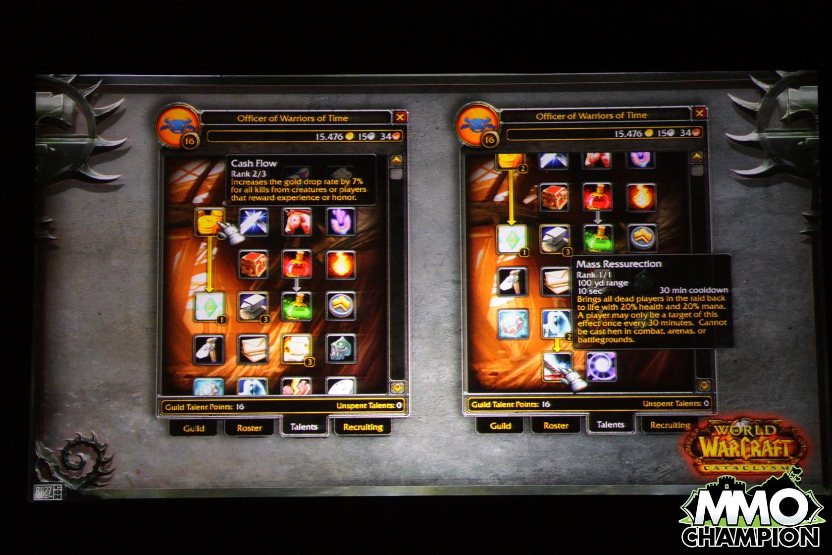 """Wow cataclysm - новая система гильдии! """" World of Warcraft - wow, секреты, аддоны, новости, хаки, читы, форум"""
